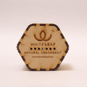 Natural Odour Absorbent for Cars - Made from Activated Carbon (Hexagon Shaped)- Beige