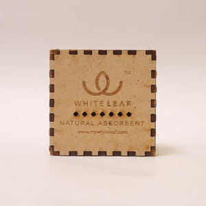 Natural Odour Absorbent for Cars - Made from Activated Carbon (Cube Shaped)- Beige
