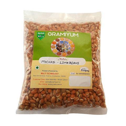 Naturally Grown, Pesticide-Free Lima Beans, 500g