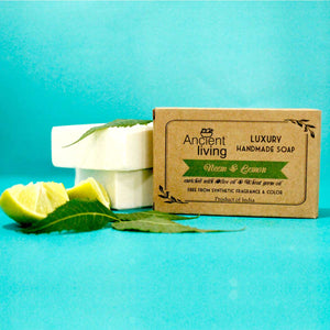 Neem & Lemon Luxury Handmade Soap (100gms)