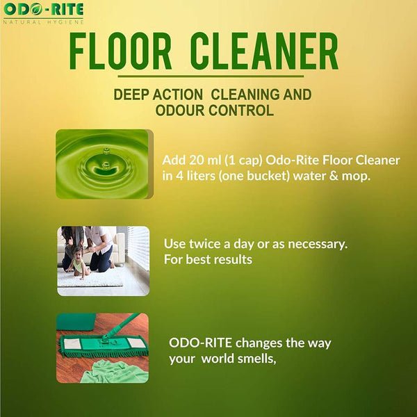 Natural Cleaners Combo Pack -(Natural Floor Cleaner + Natural Home Freshener)