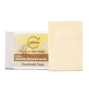 Oatmeal, Almond and Honey Natural Soap, 100g