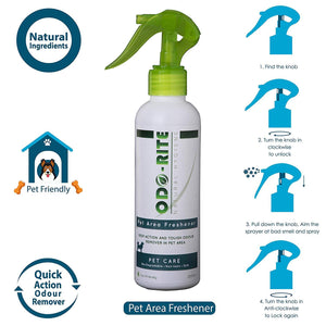 Pet Area Freshener and Odour Remover - 200ml