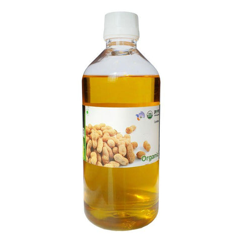 Organic Cold-Pressed Groundnut Oil, 500g