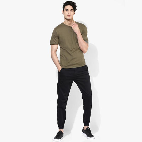 Organic Cotton Men's T-Shirt With Pocket - Olive