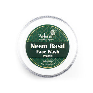 Neem Basil Face Wash Concentrate, 50g
