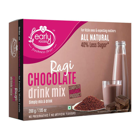 Ragi Chocolate Health & Nutrition Drink Mix for Little Ones & Kids, 200g