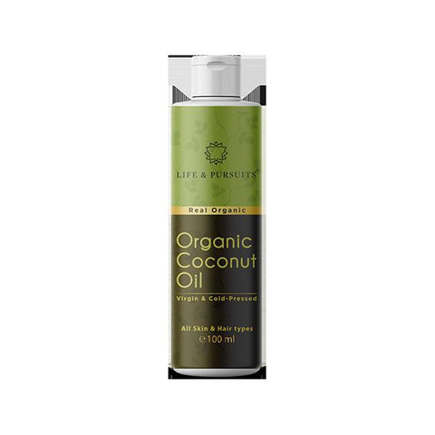 Organic Virgin Coconut Oil, 100ml