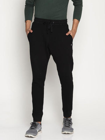 Organic Cotton Men's Joggers - Black