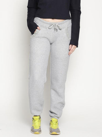 Organic Cotton Women's Joggers - Grey