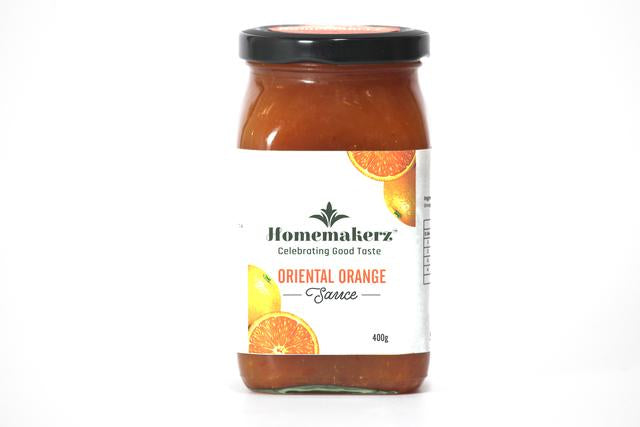 Natural, Preservative-Free Oriental Orange Sauce, 400g