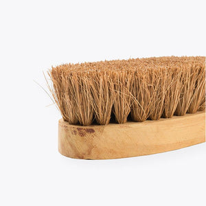 Natural Oval Washing Brush made by Rural Artisans