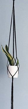 Kala - Macrame Plant Holder Handmade by Women Artisans