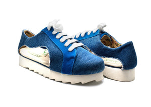 Greensole Bold Denim Recycled Shoes