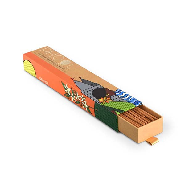 Phool Organic Incense Sticks made from Temple Flowers (40 Sticks) By HelpUsGreen