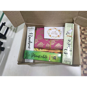 Assorted Plantable Stationery Kit (Notebook + Notepad + Thank You Card + Pencil + Pen)