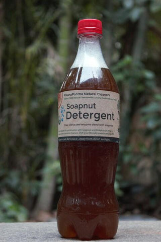 Soapnut Detergent - Natural, Skin-Friendly Bioenzyme-Based