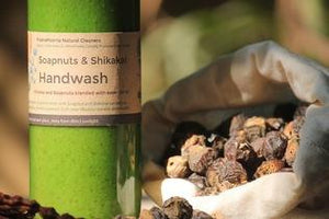 Natural, Eco-Friendly Handwash with Soapnut and Shikakai, 375ml