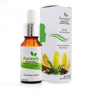 Pureefy Antibacterial Essential Oil Blend, 20ml