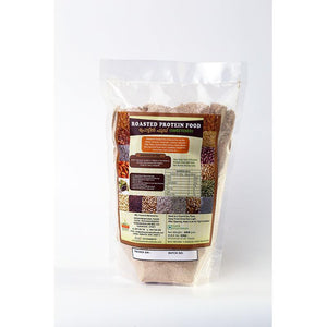 Natural Roasted Protein Mix with Whole Grains, Millets and Legumes , 400g (Sweetened)