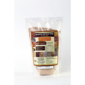 Natural Roasted Protein Mix with Whole Grains, Millets and Legumes, 400g (Unsweetened)