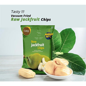 Vacuum Fried Raw Jack Fruit Chips (Pack of 3), 60g