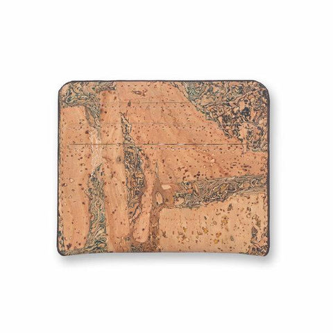 Cork Fabric  Card Case - Terrain