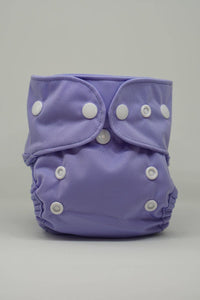 Reusable Cloth Diaper for Newborns - Lavender
