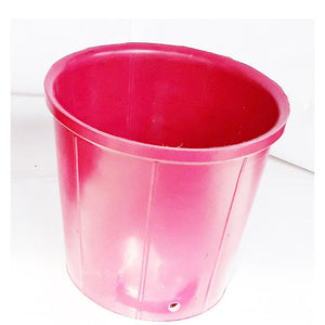 Rubber Pots Made from Upcycled Tyres - Red (Pack of 2)