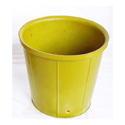 Rubber Pots Made from Upcycled Tyres - Green (Pack of 10)