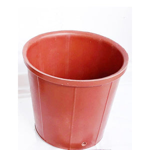 Rubber Pots Made from Upcycled Tyres - Pink (Pack of 10)