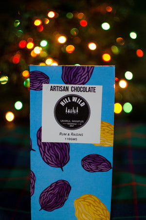 Rum and Raisin Artisan Chocolate