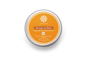 Natural Orange Lip Balm