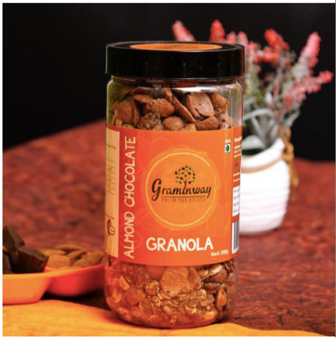 Almond Chocolate Granola, 300gms