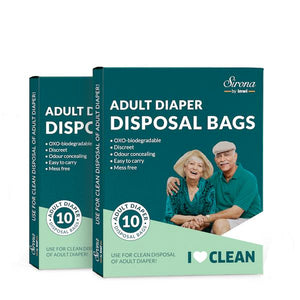 Sirona Premium Adult Diaper Disposal Bags