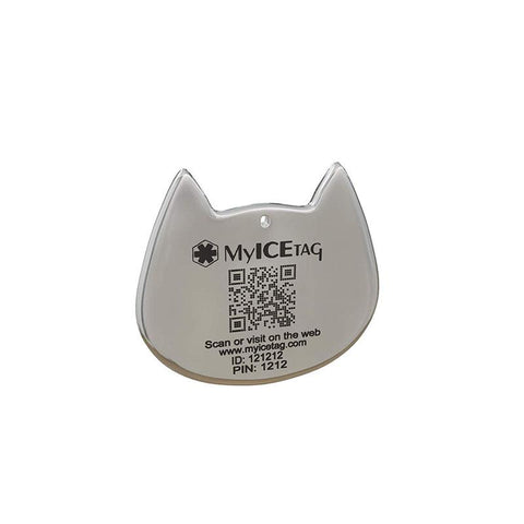 Smart Pet ID Tag for Dogs and Cats - Without Engraving