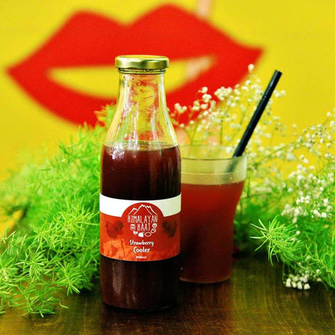 Strawberry Cooler, 500ml