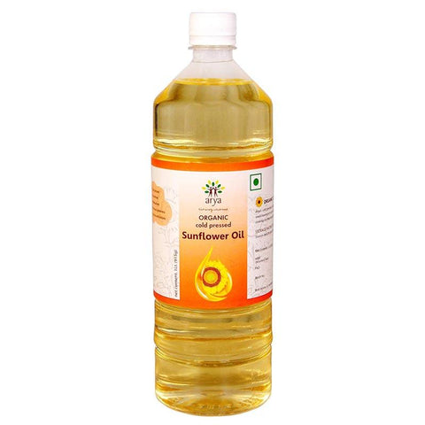 Organic Cold-Pressed Sunflower Oil, 1l