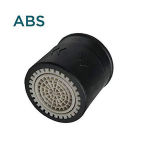 Water Saving Switch Aerator For Taps (ABS Body) - Black