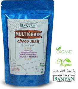 The Great Banyan Organic Multigrain Choco Malt