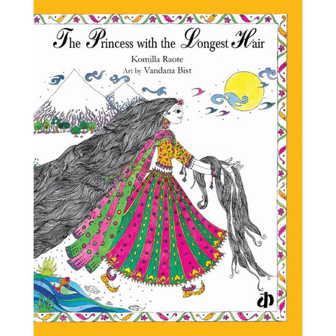 The Princess with the Longest Hair - Children's Picture Book
