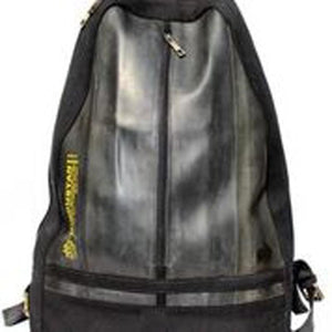 The Black Flag Upcycled Tyre Tube Travel Backpack