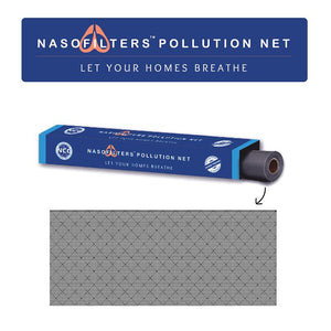 Three-Layered Nano Fibre Anti-Pollution Net for Windows and Grills
