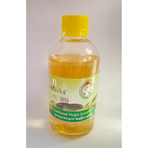 Traditional Hot Processed Virgin Coconut Oil (Urruk Vellichana), 200ml