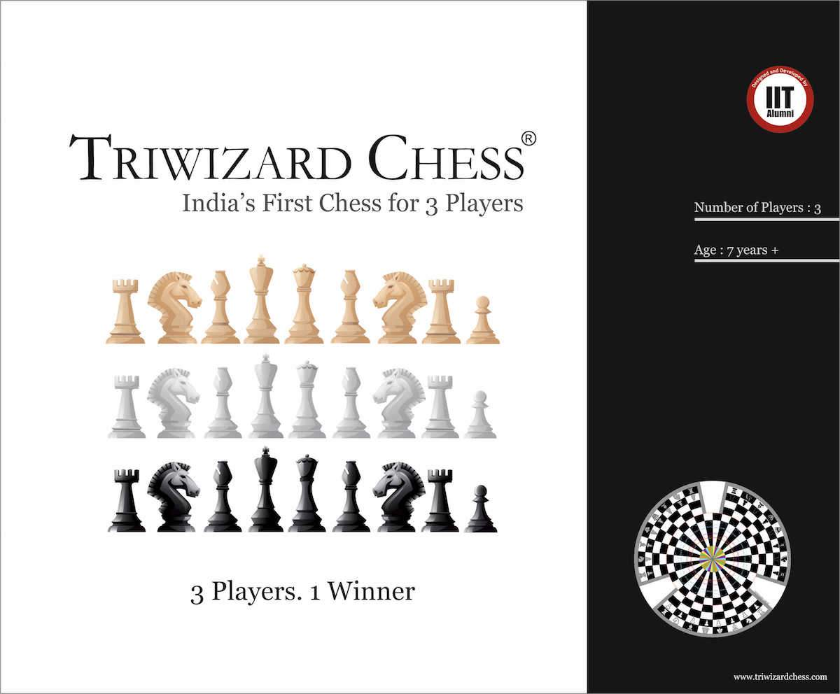 efa5f760e213d Triwizard Chess - India's First Chess for Three Players – The Better ...