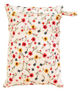 Waterproof Wet Bag -  Pink & Petals
