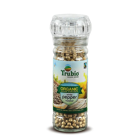 White Malabar Pepper (Grinder Bottle), 60g