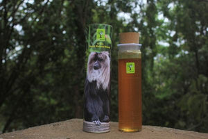 Wild Honey - Biodiversity series (Lion Tailed Macaque), 500g