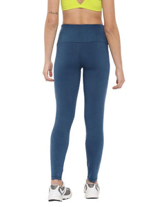 Women's Bamboo Ankle-Length Leggings - Sailor Blue (AWFL001S)