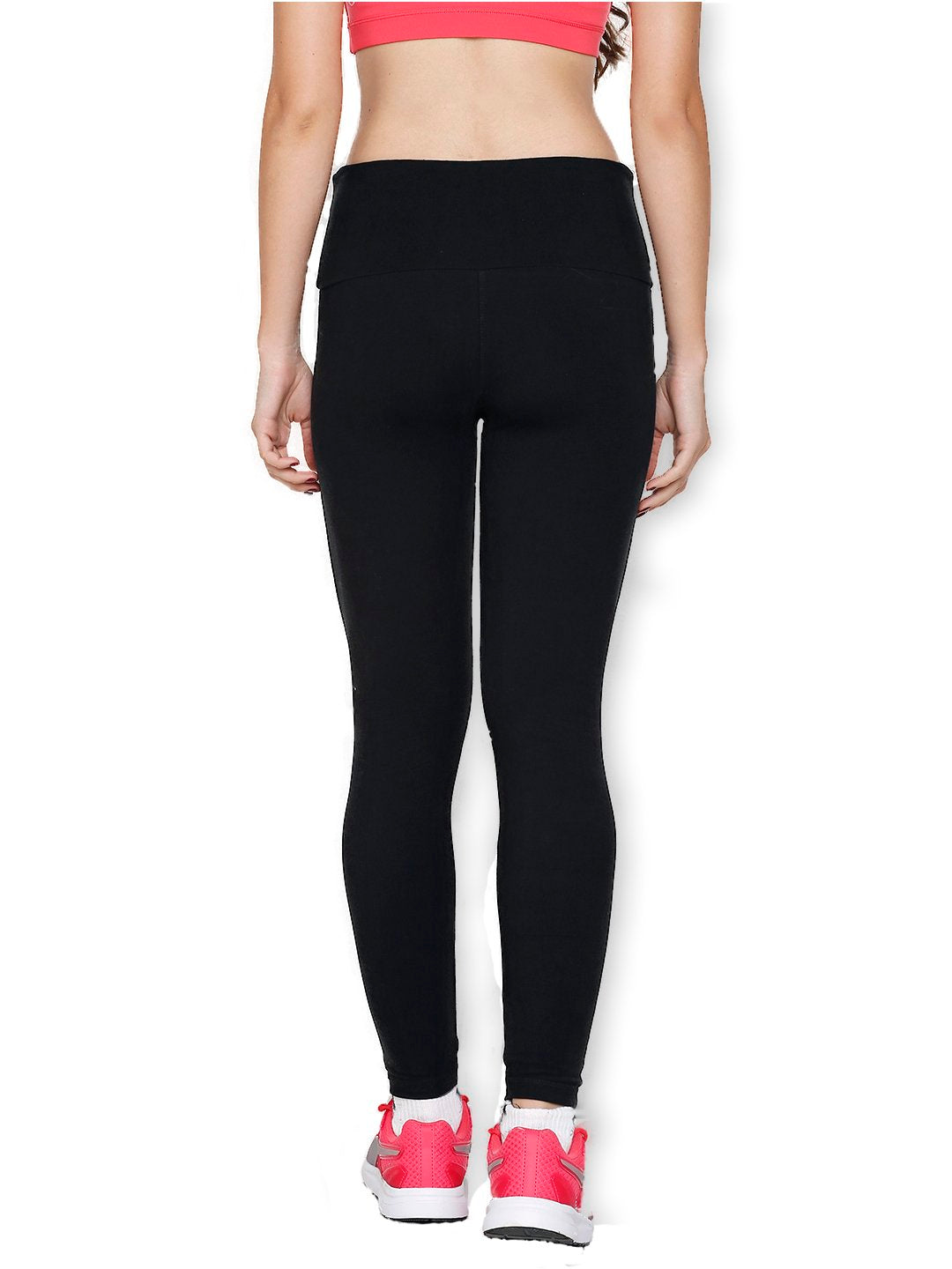 Women's Bamboo Ankle-Length Leggings - Slate Black